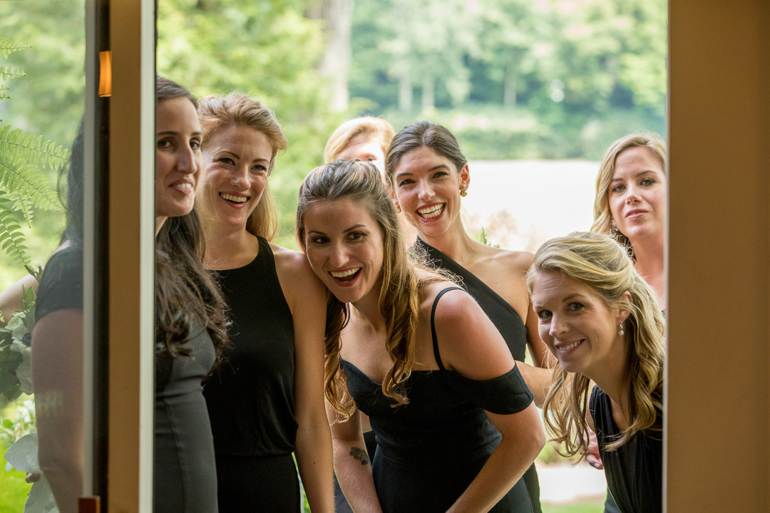 Bridesmaids Linville Wedding