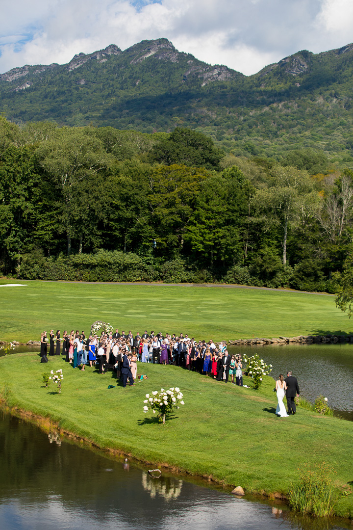 Grandfather Golf and Country Club Wedding