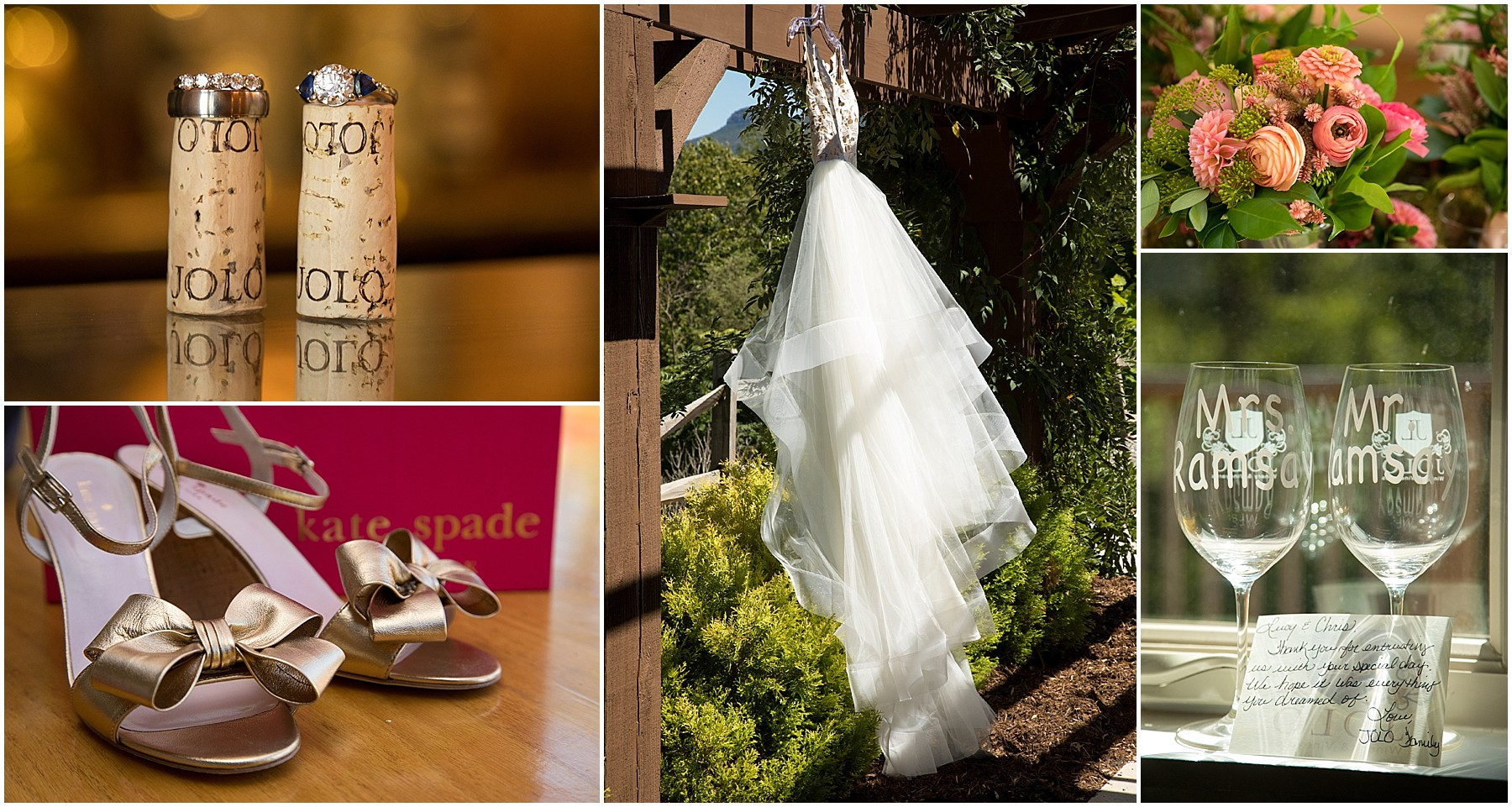 JoLo Winery Wedding Details