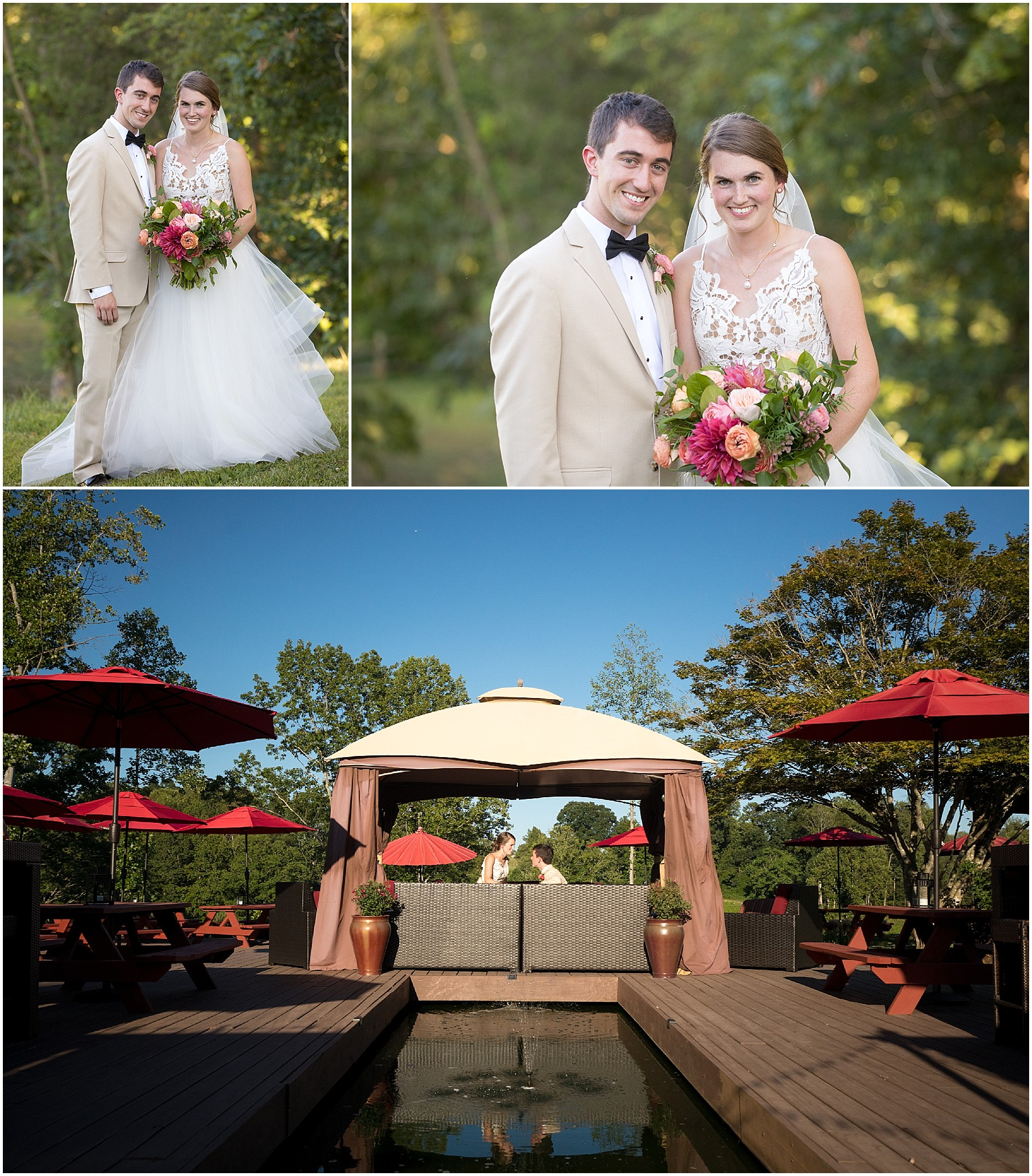 JoLo Winery Wedding Bride and Groom Portraits