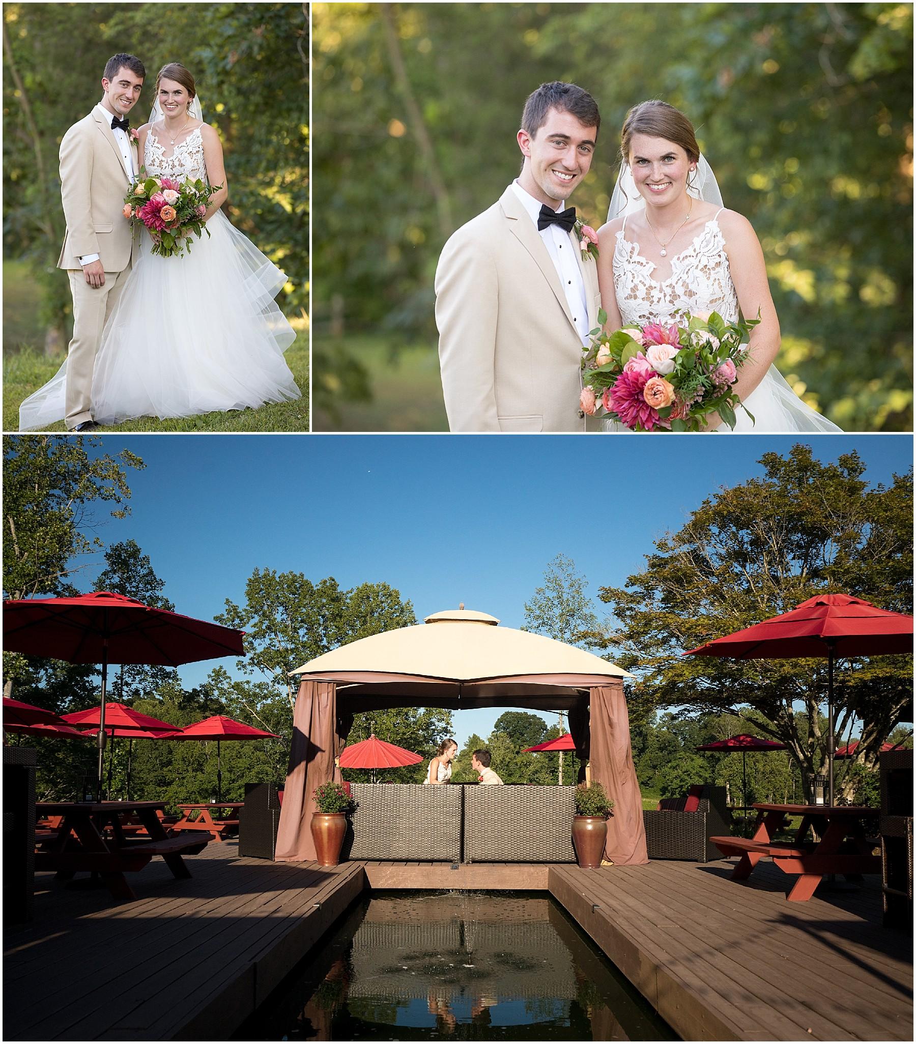 JoLo Winery Wedding Bride and Groom Portraits