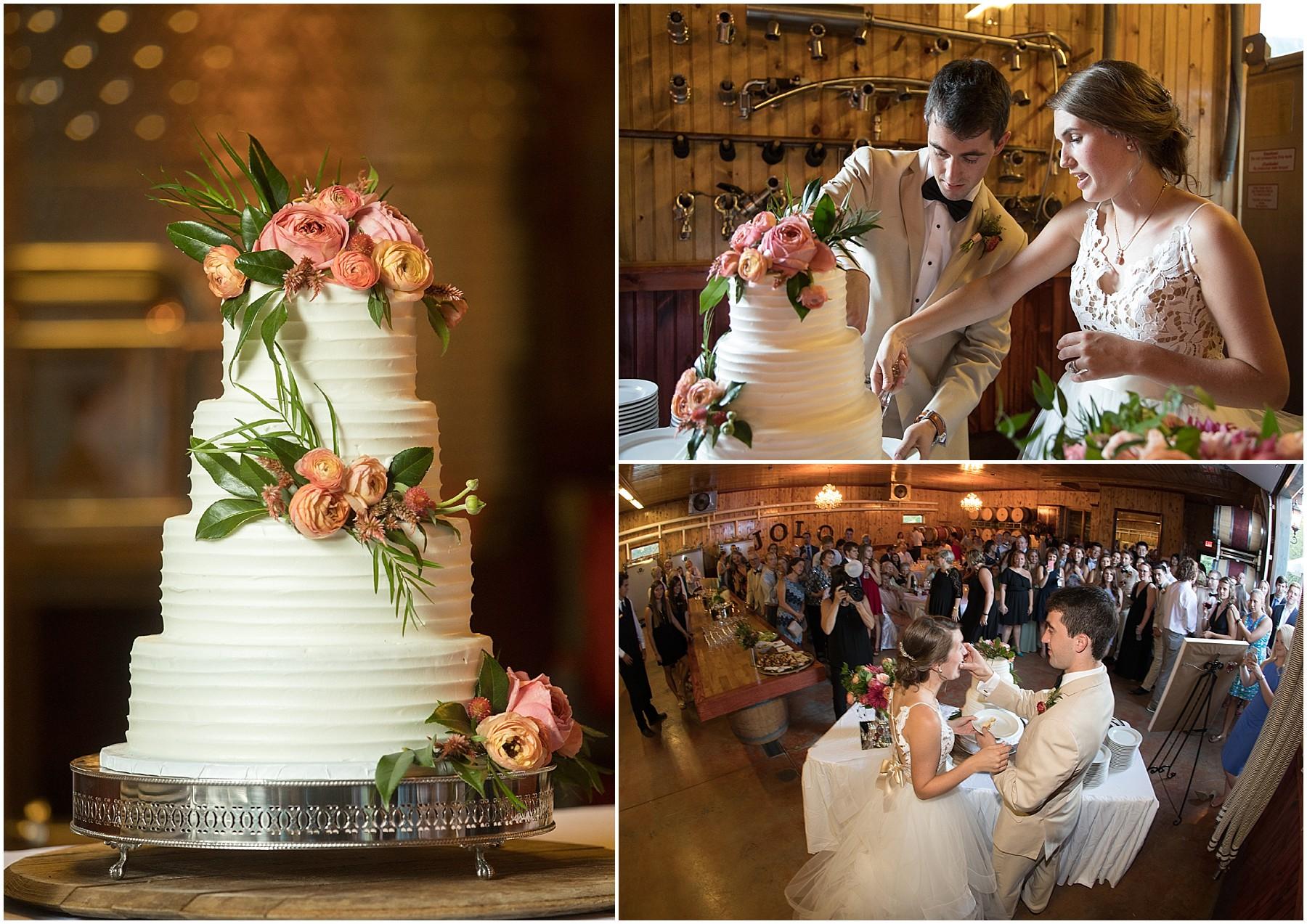 Wedding Reception Photos JoLo Winery