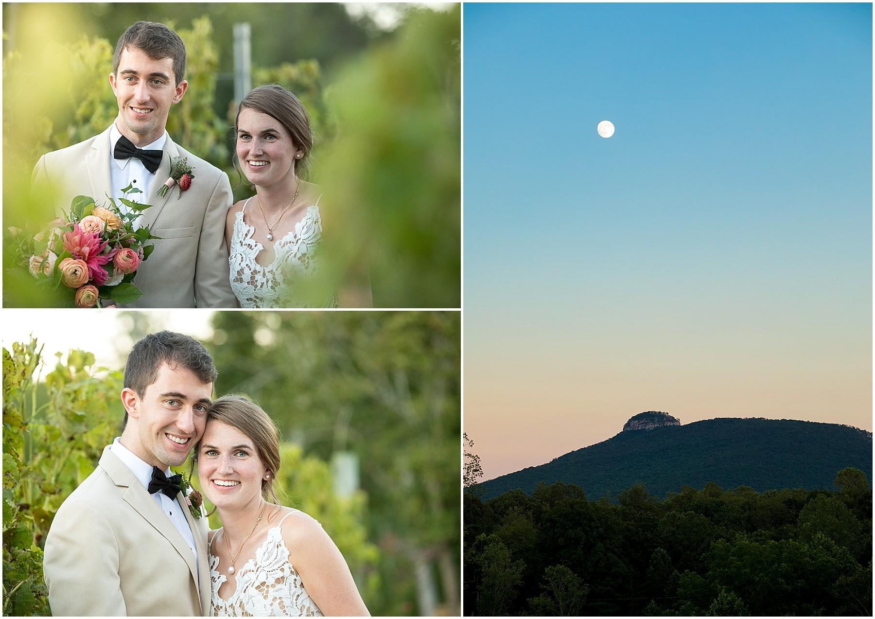 JoLo Winery Wedding Bride and Groom