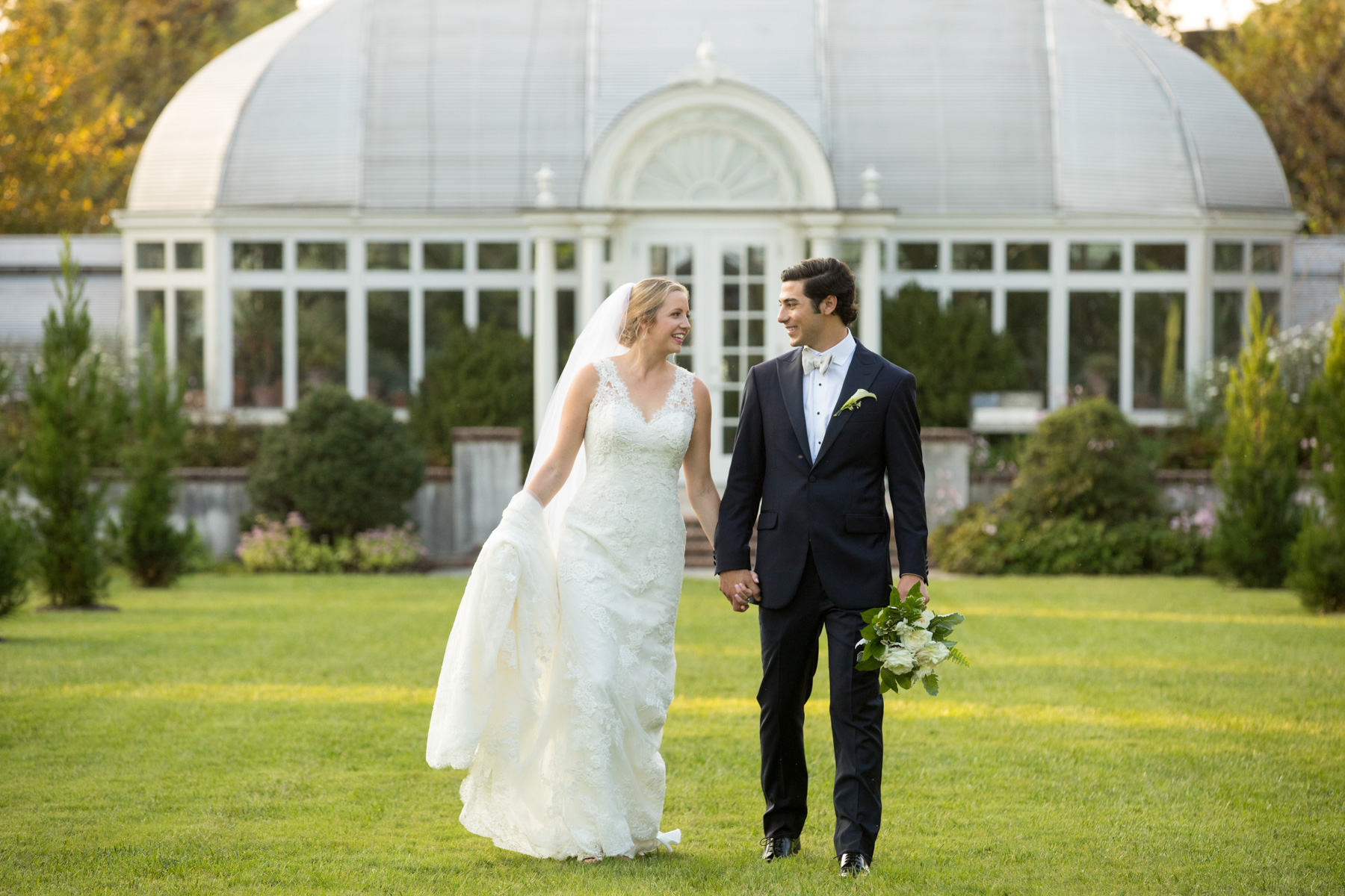 Reynolda Gardens Wedding Portrait
