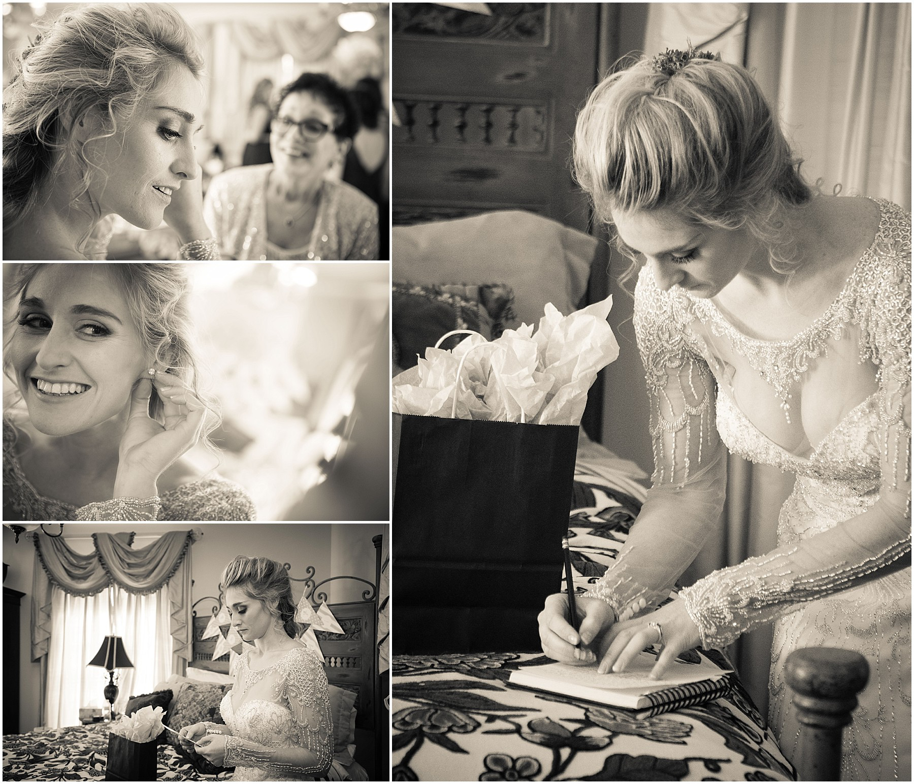 Twickenham House Wedding Bride's Final Preparations