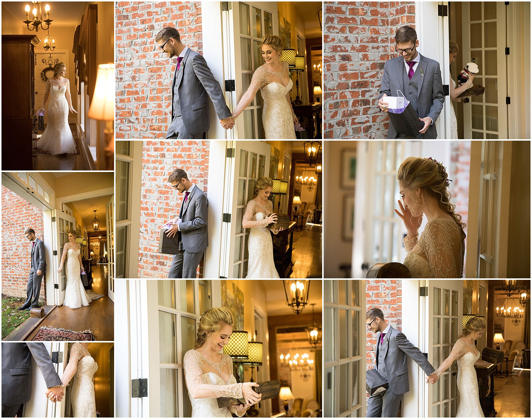 Twickenham House Wedding Photos - Gift Exchange